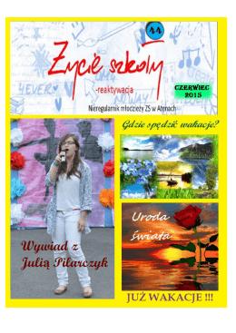Wywiad z Julią Pilarczyk