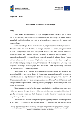 Magdalena Łacina - Powiat Ostrzeszowski