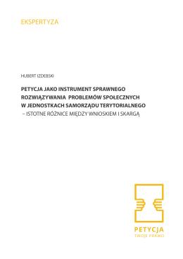 EKSPERTYZA - Petycja