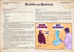 NR 25(67)/2015 - Drabble na Niedzielę