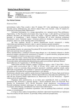 DzielnyTata.pl Michał Fabisiak Strona 1 z 2 2015-05