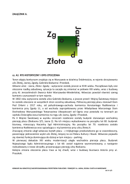 A1, A2_Rys historyczny i wytyczne