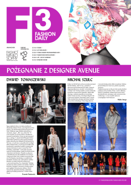 pobierz pdf - Fashion Week Poland