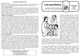 List parafialny
