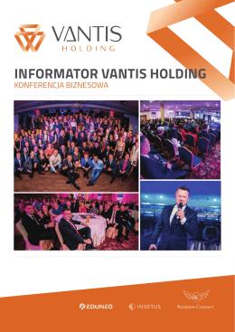 Wydrukuj agendę - Konferencja Biznesowa Vantis Holding Wealth
