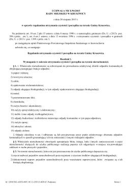 Uchwała Nr X/94/2015