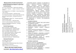 Więcej informacji znajdą Państwo na stronie: http://www.bacif.p.lodz.pl/