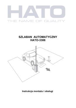 SZLABAN AUTOMATYCZNY HATO-3306