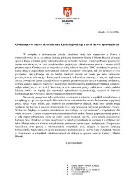 Z poważaniem - Sieradz.com.pl