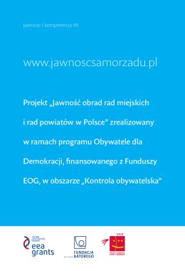 Część III - Jawnoscsamorzadu.pl