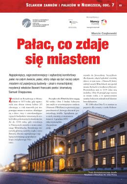 Szlakiem zamków i pałaców w Niemczech, odcinek 7