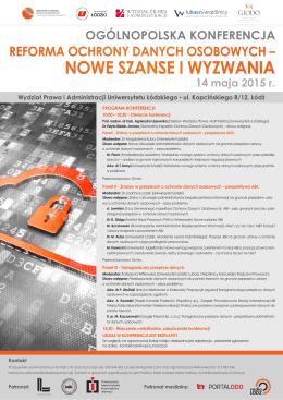 NOWE SZANSE I WYZWANIA - Generalny Inspektor Ochrony
