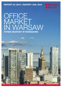 Rynek biurowy w Warszawie - I kw. 2015