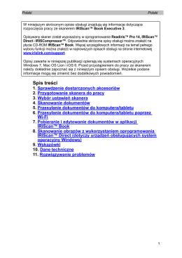 5. Przesyłanie dokumentów do komputera/tabletu