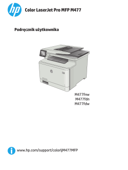 HP Color LaserJet Pro MFP M477 User Guide