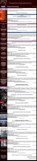 Biuletyn Informacyjny - Przegląd Socjologii Jakościowej