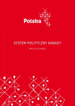 SYSTEM POLITYCZNY KANADY