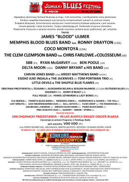 PROMO -2015 - PL - Suwałki Blues Festiwal