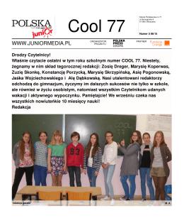 Cool 77 - Junior Media - szkoła podstawowa nr 77