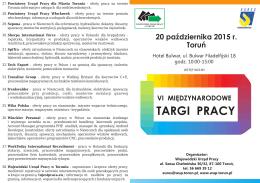 TARGI PRACY - tujestpraca.eu