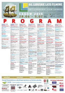 plakat programowy LLF2015