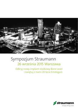 Sympozjum Straumann