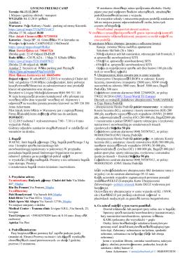 Szczegółowe info przedwyjazdowe Livigno Freeski 4