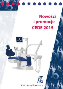 Nowości i promocje CEDE 2015