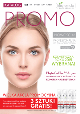 3 sztuki gratis! - ARKADIA - Hurtownia Kosmetyków Profesjonalnych