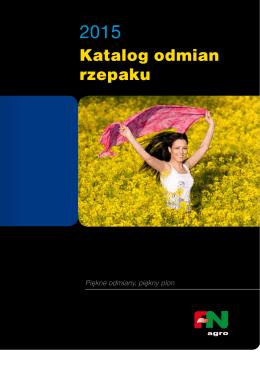 Katalog odmian rzepaku 2015