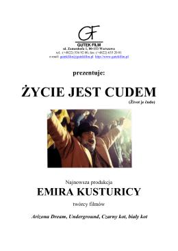 ZYCIE JEST CUDEM pressbook