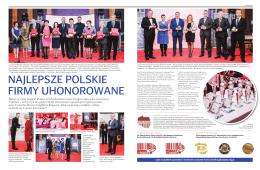 najlepsze polskie firmy uhonorowane