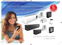 Systemy do sterowania ogrzewaniem Seria iT600 - Salus