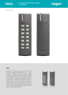 Zaawansowany kontroler dostępu seria PRxx2