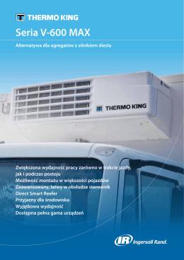 Seria V-600 MAX - Thermo Systems