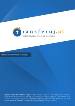 Przykładowa implementacja Transferuj.pl