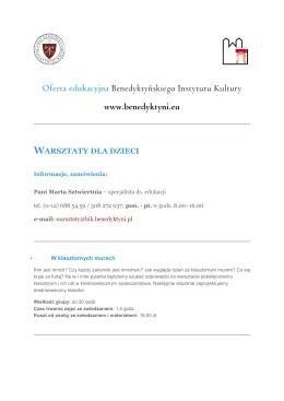 Pobierz ofertę warsztatów w wersji PDF