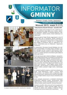 09/2015 - Gaszowice