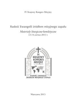 Materiały liturgiczno-homiletyczne