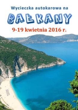 Bałkany 2016