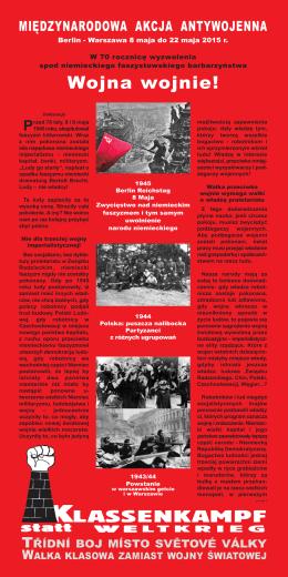 Polski - Klassenkampf statt Weltkrieg