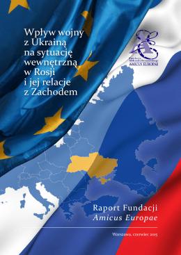 Wpływ wojny z Ukrainą na sytuację wewnętrzną