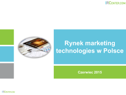 Rynek marketing technologies w Polsce
