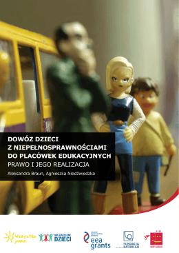 Dowóz dzieci z niepełnosprawnościami do placówek edukacyjnych