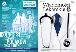 DZIŚ I JUTRO - Wiadomości Lekarskie