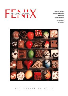 Numer 16(4) - Fenix – Psychoterapia Uzależnień