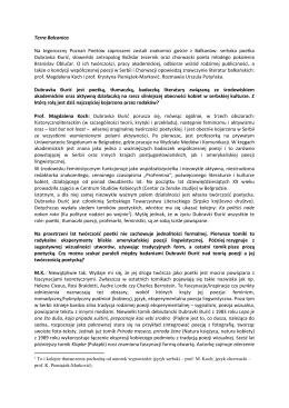 """""""Terra Balcanica"""". - Centrum Kultury Zamek"""