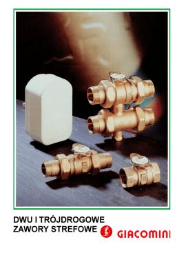 R276 Dwu- i trójdrożne zawory strefowe - Termo-Bud