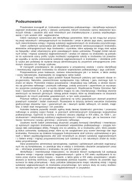 Podsumowanie - Wojewódzki Inspektorat Ochrony Środowiska w