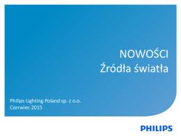 NOWOŚCI Źródła światła - Hurtownia Elektryczna LEMAR Electric